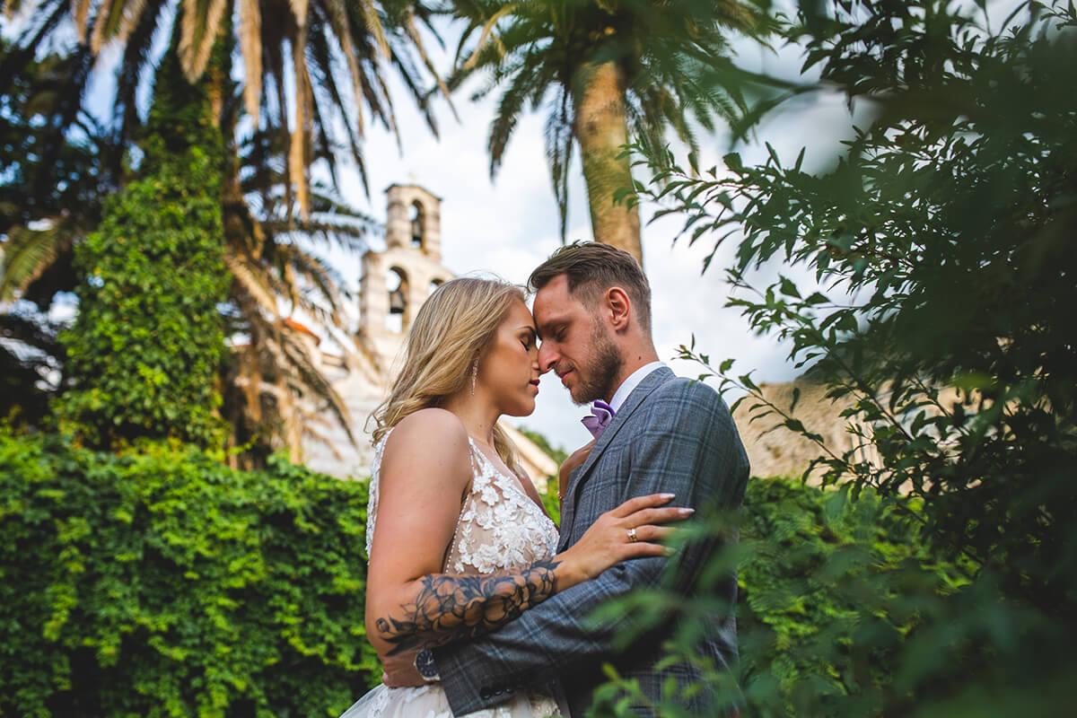 Plener ślubny w Czarnogórze