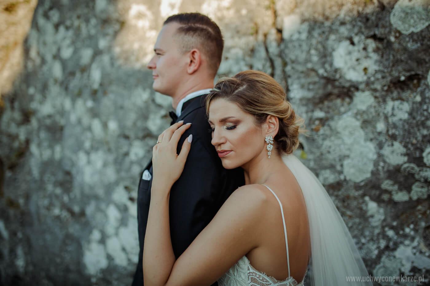 Zdjęcia ślubne na górze Zborów