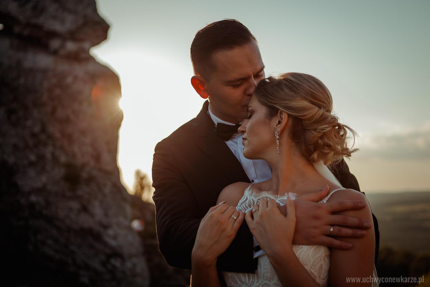 Sesja ślubna na górze Zborów