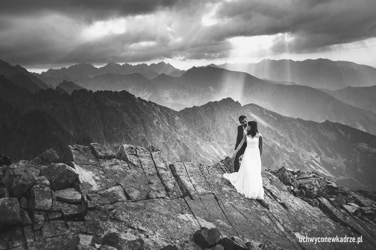 Plener ślubny w Tatrach Słowackich