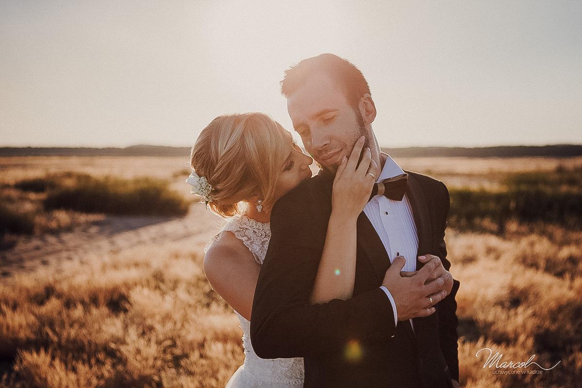 Pustynia Błędowska sesja ślubna