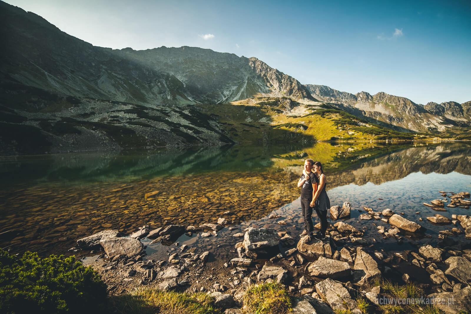 Plener zaręczynowy w Tatrach